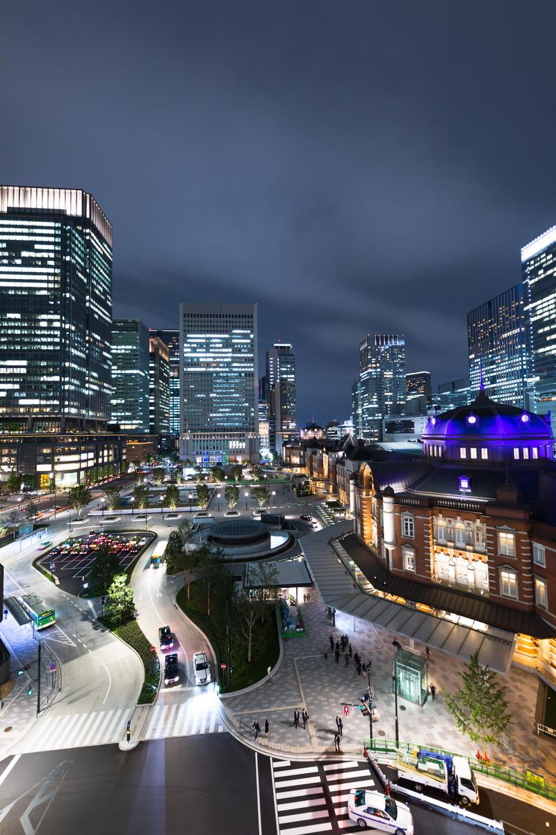 都市部の夜景